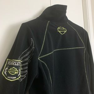 Harley-Davidson Fleece Ladies Zip-up Jacket